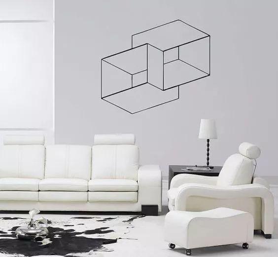 室内美术设计中手绘墙步骤