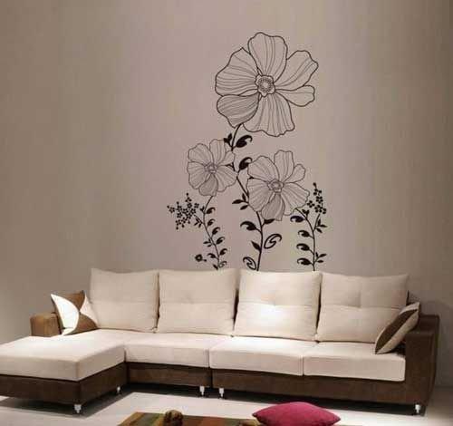 大家知道客厅手绘墙有哪些特点吗?